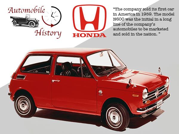 Honda - Automobile History