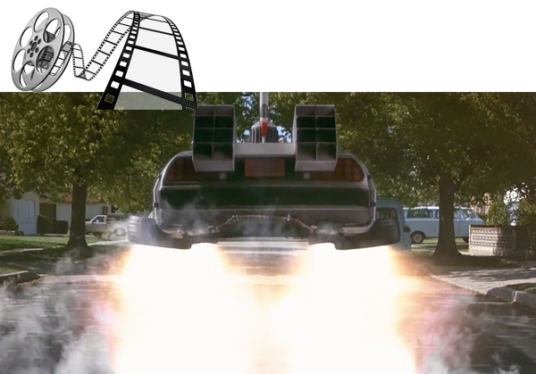 Delorian Flying