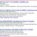 Sell my Junk Car Houston